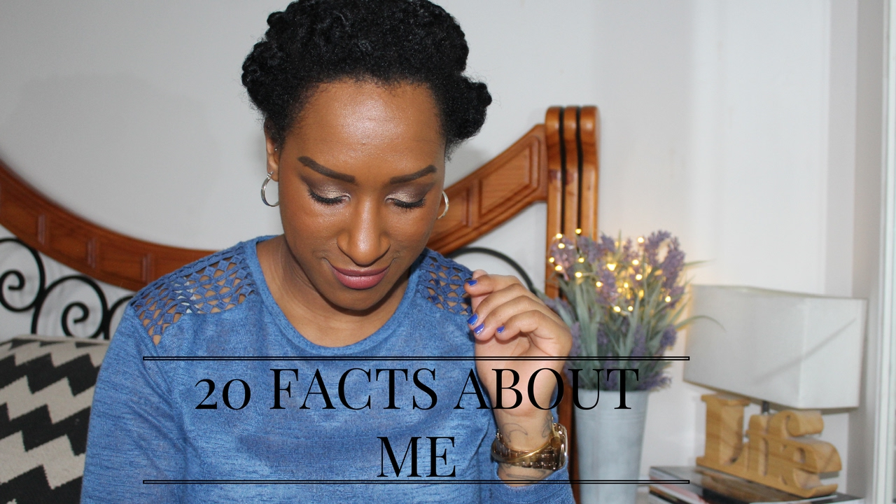 """20 Facts About Me"" 