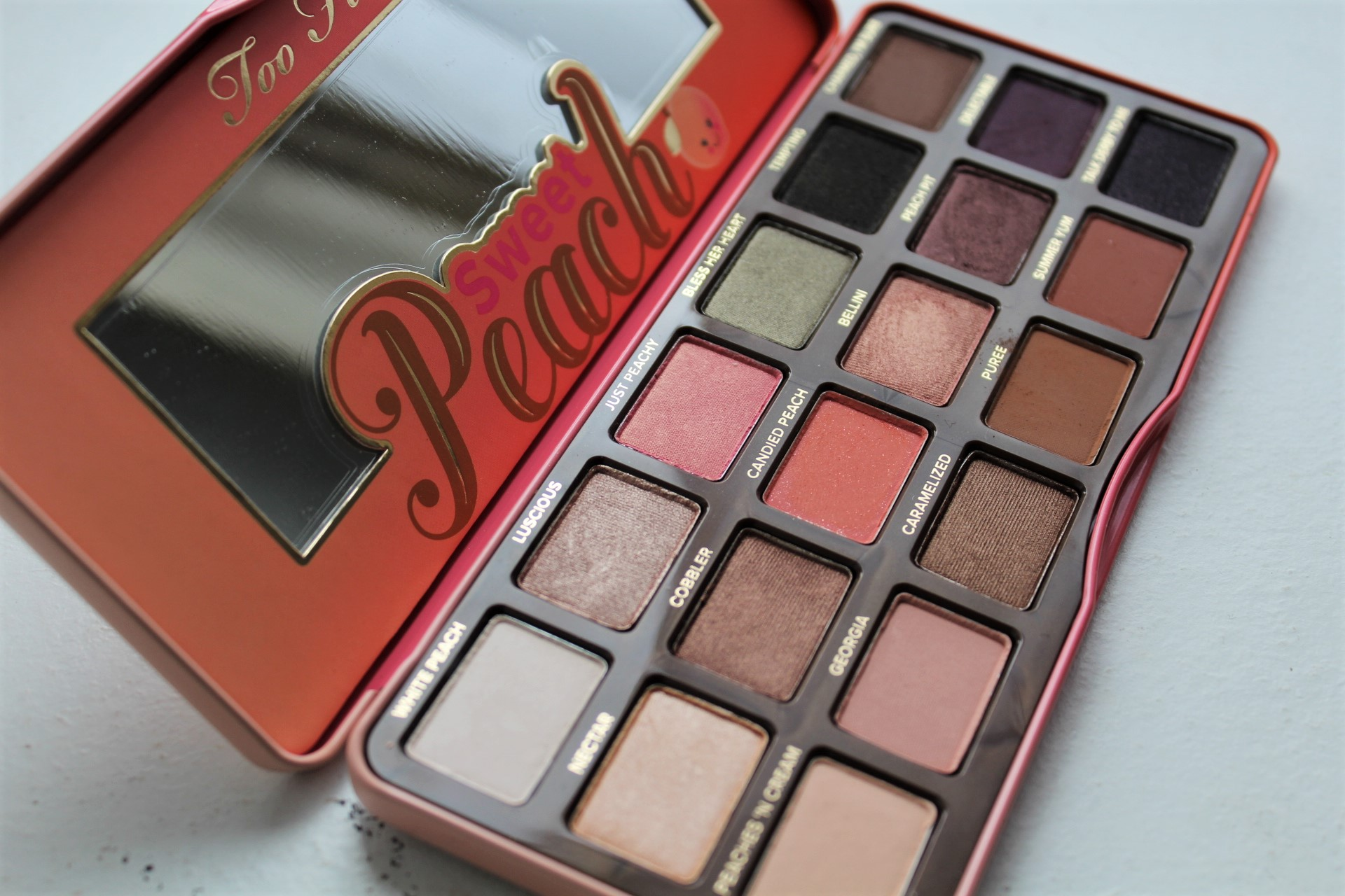 Still Sweet On | Too Faced Sweet Peach Palette