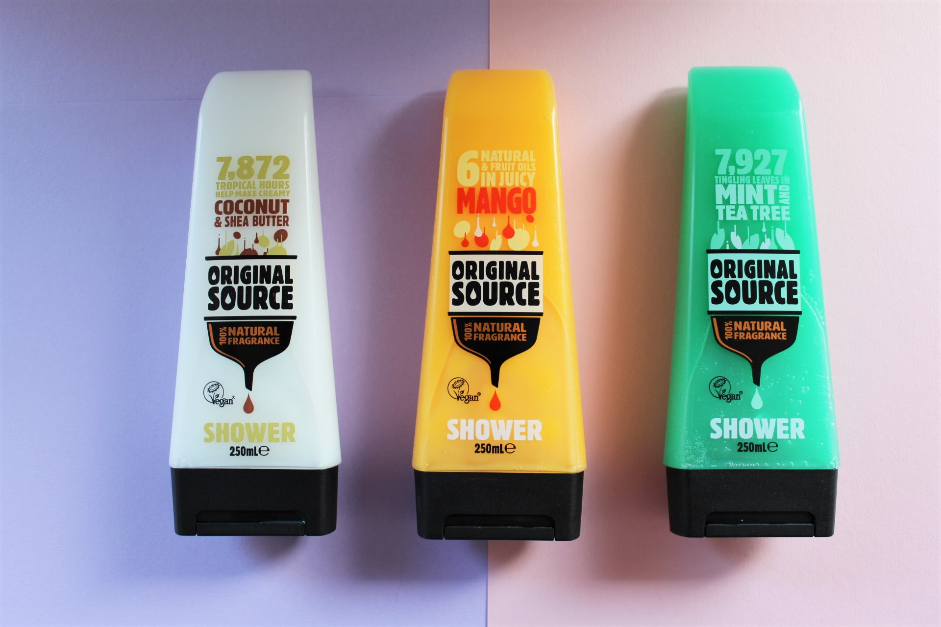 Vegan Rainbow Shower Gel | Original Source
