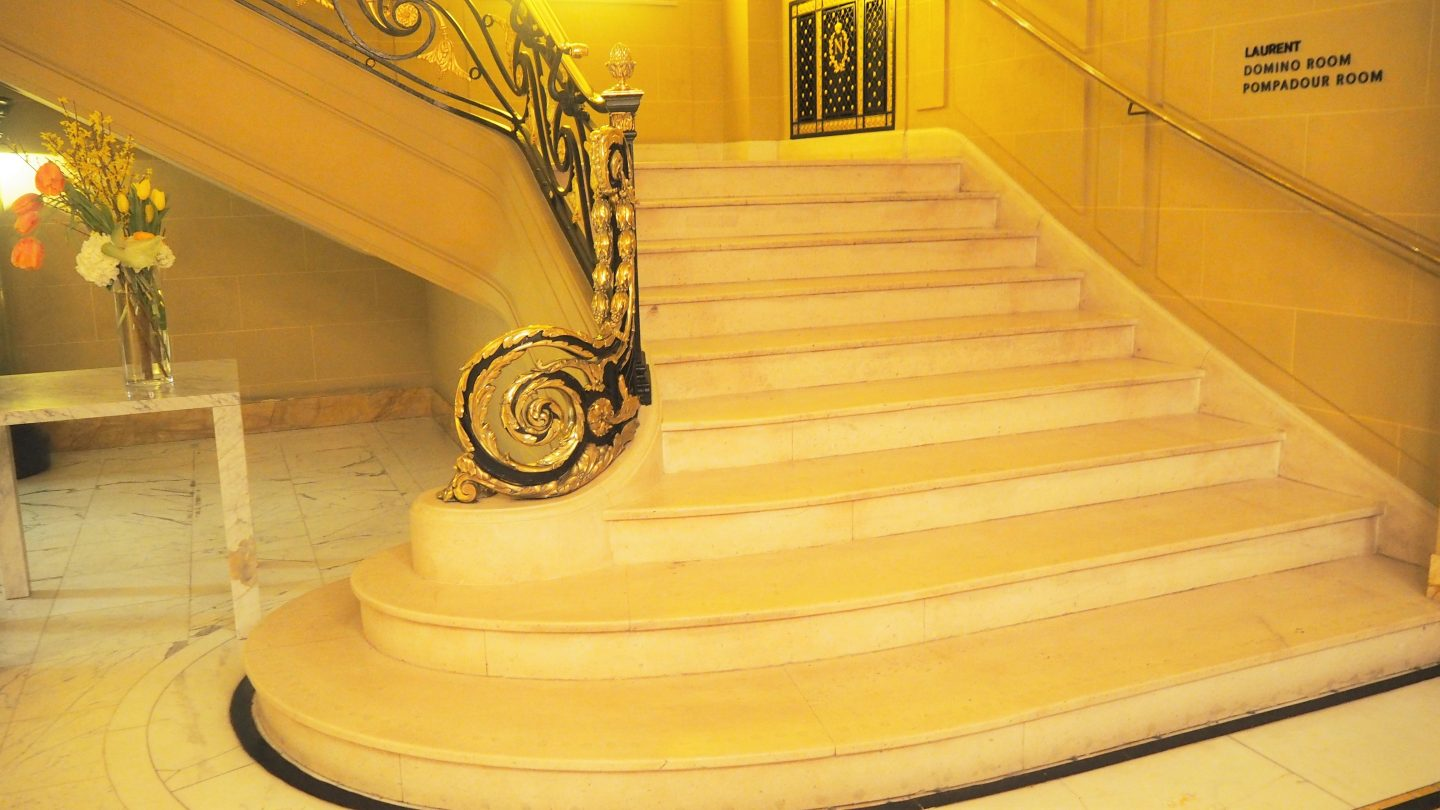elaborate stairs hotel cafe royal