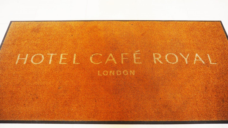 Hotel Cafe Royal door mat