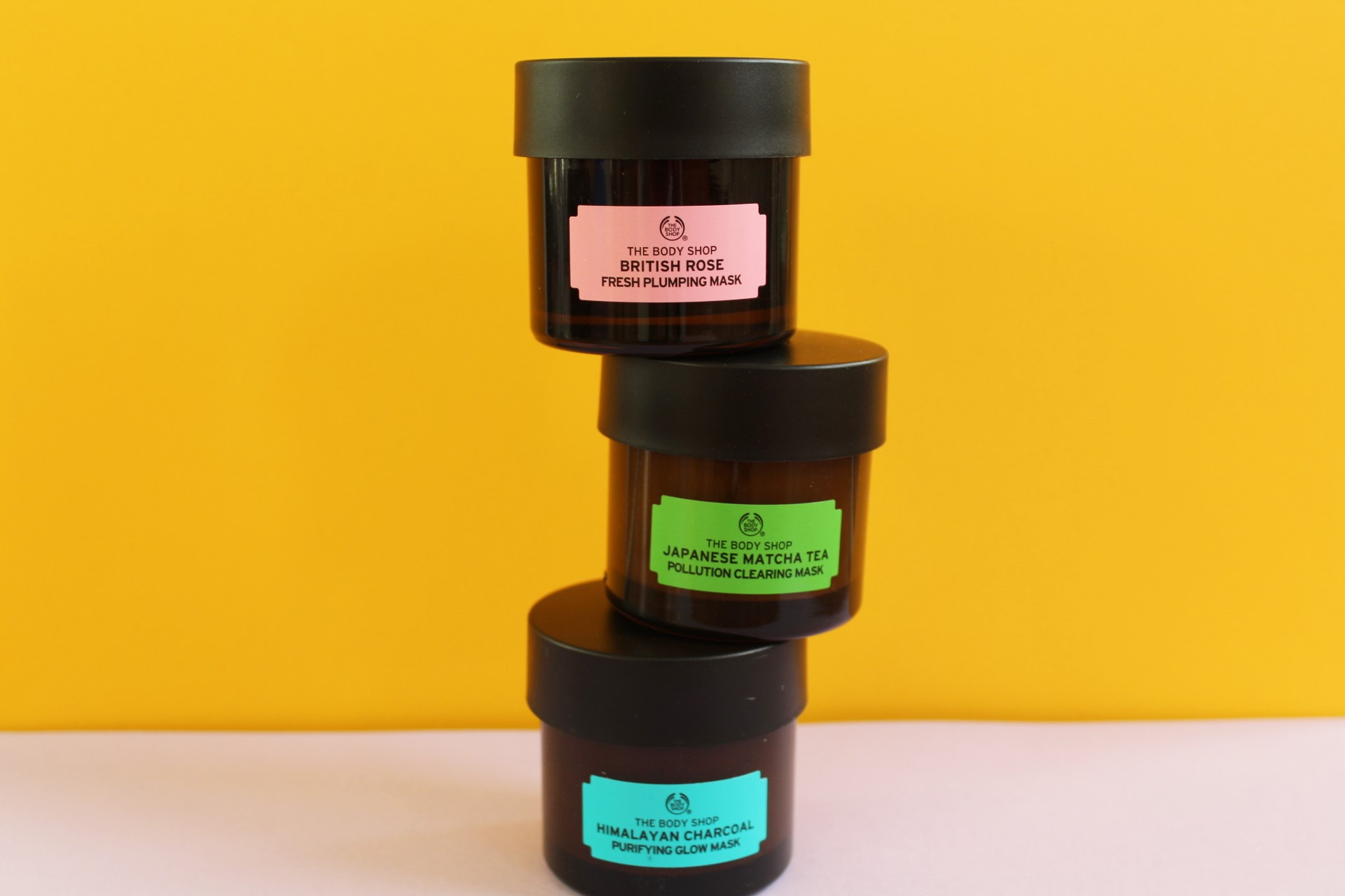 The Three Best Face Mask | The Body Shop